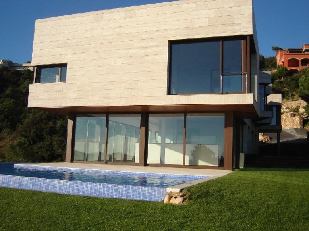 Villa de lujo mansion espa a girona castell platja d for Villas de lujo en madrid